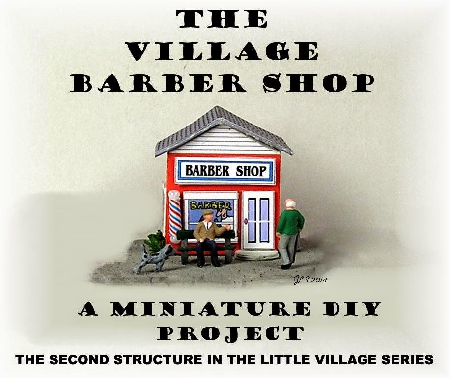 Barber Shop Open On Monday : DYI DOLLHOUSE MINIATURES