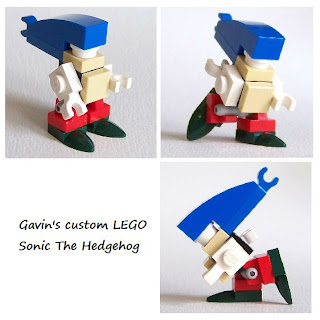 LEGO microbuild Sonic the Hedgehog