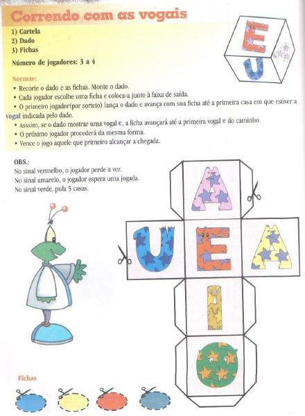 As Vogais Ensino Fundamental Educa    O Infantil Maternal Jardim