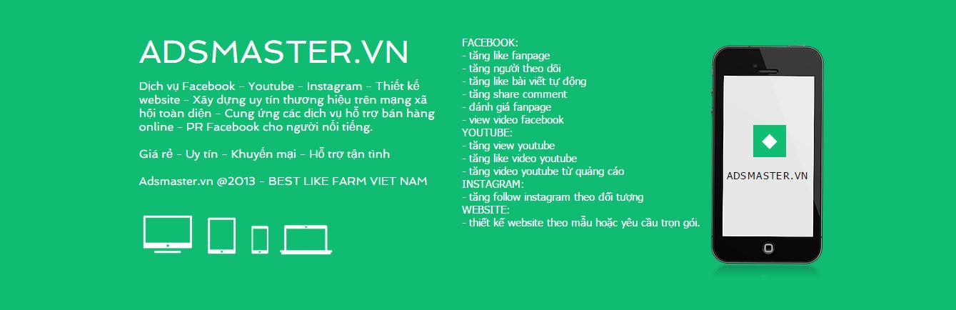 Dịch vụ tăng like facebook mua like facebook tăng like fanpage giá rẻ tphcm