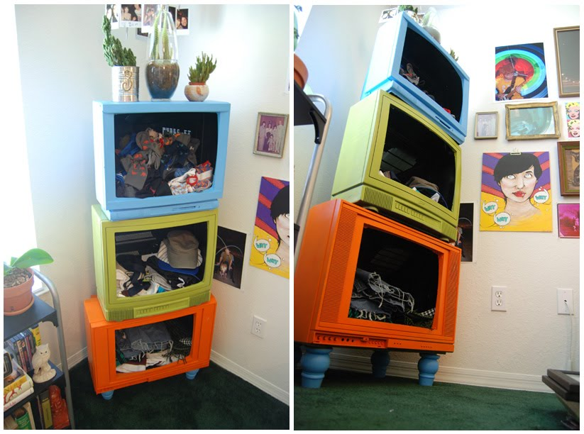 Upcycle old appliances big and small the refab diaries - Reciclar muebles viejos ...