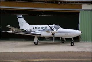 Los ladrones del avión también se robaron 150 galones de combustible
