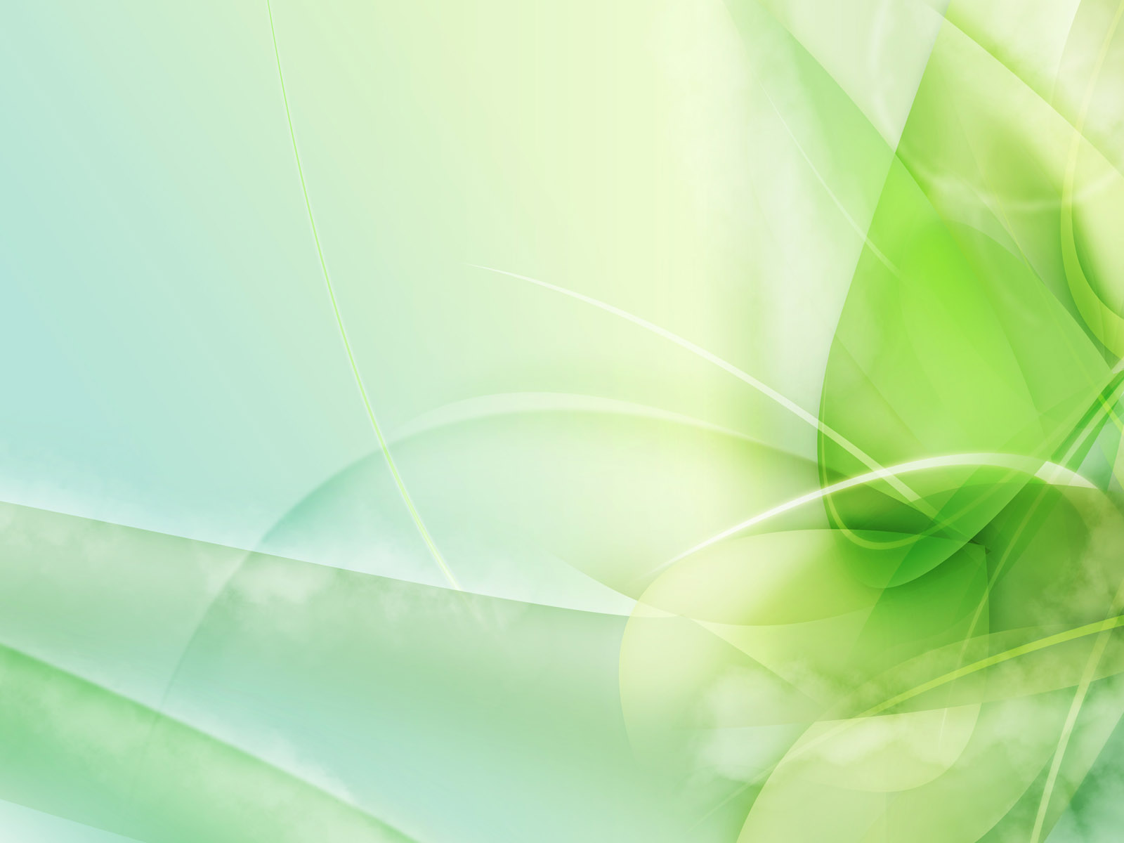 Light Green Abstract