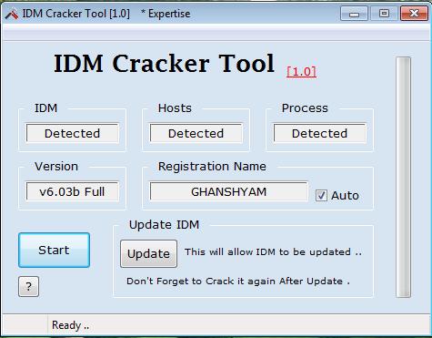 telecharger idm cracker tool 1.0 gratuit