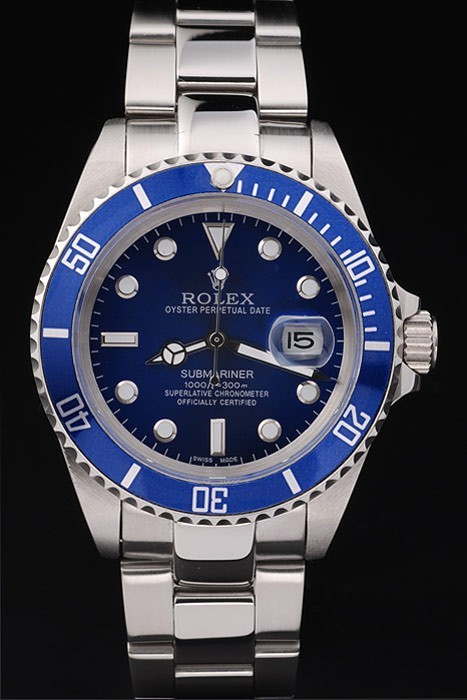 Replique Rolex Submariner Blue Dial
