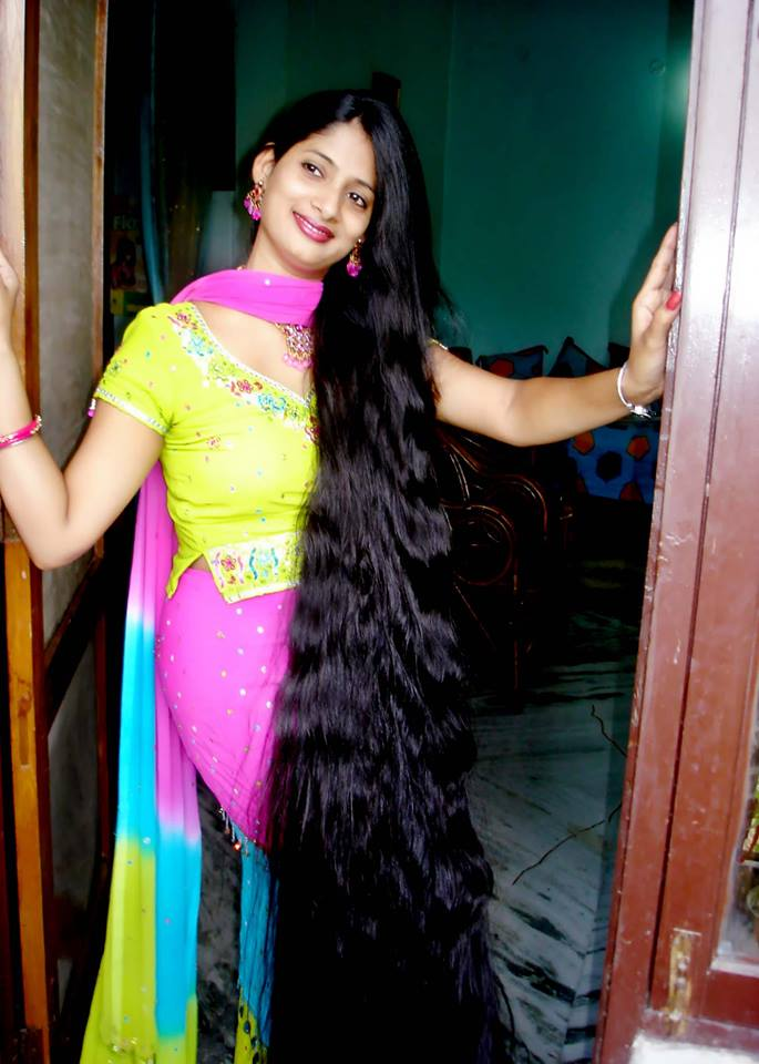 Winner Of Limca S Longest Hair
