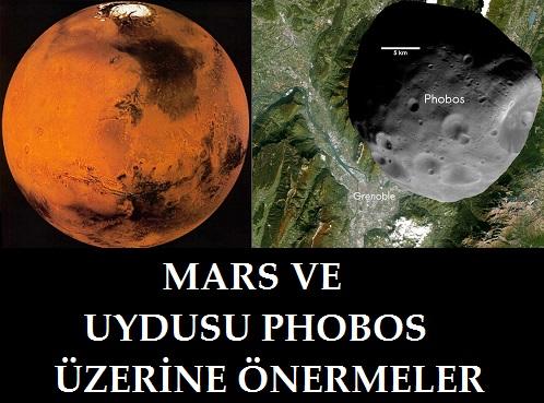 Mars ve Phobos Üzerine Önermeler