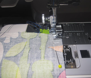 Stitching with a Zipper foot