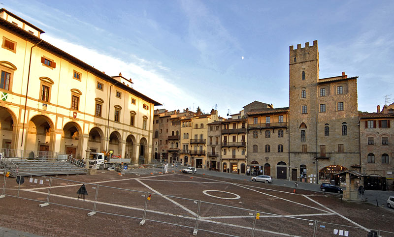 La toscane du sud la toscane for Arezzo antiquariato