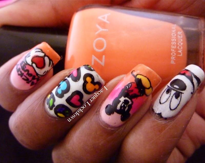 Lacquer Lockdown - MyOnline Shop, Jr plates, MyOnline Shop Jr Collection, mickey mouse, Jr 05, disney nail art, Orly Baked Collection, Mundo de Unas #2, Zoya Thandie, Orly Neon Heat, stamping, nail art, summer nail art, spring nail art, disney nail art, cute nails, easy nail art, diy nails, nail art ideas, pueen 2014, moyou london, gradient nails, gradient nail art, American Apparel Coney Island