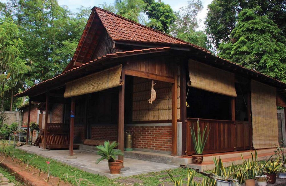 218 Contoh Model Rumah Kampung Gambar Idaman