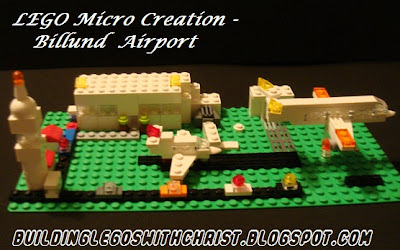 LEGO Micro Creation, Billund Airport, Billund, Denmark Geography Fair