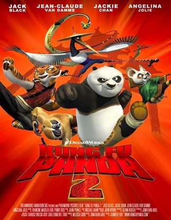 Poster Of Kung Fu Panda 2 2011 Dual Audio 720p  [Hindi - English]  Free Download Watch Online Worldfree4u
