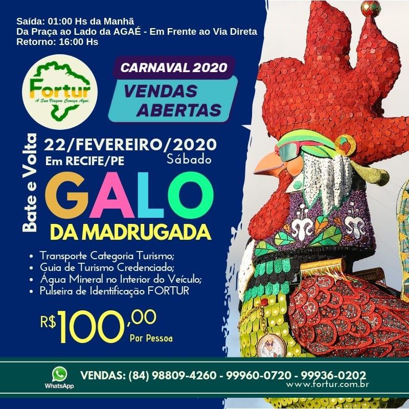 BATE VOLTA GALO DA MADRUGADA
