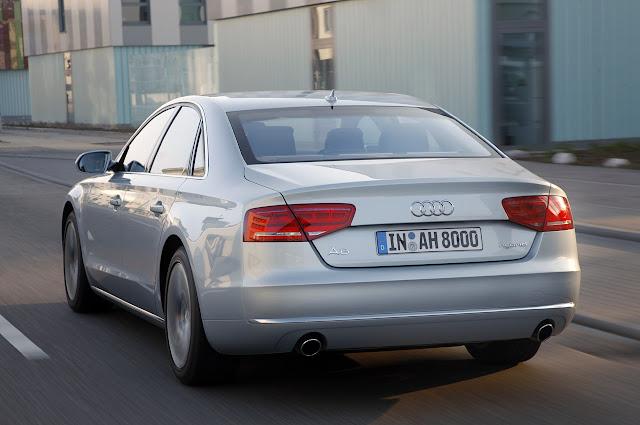Audi A8 Hybrid 2012 года