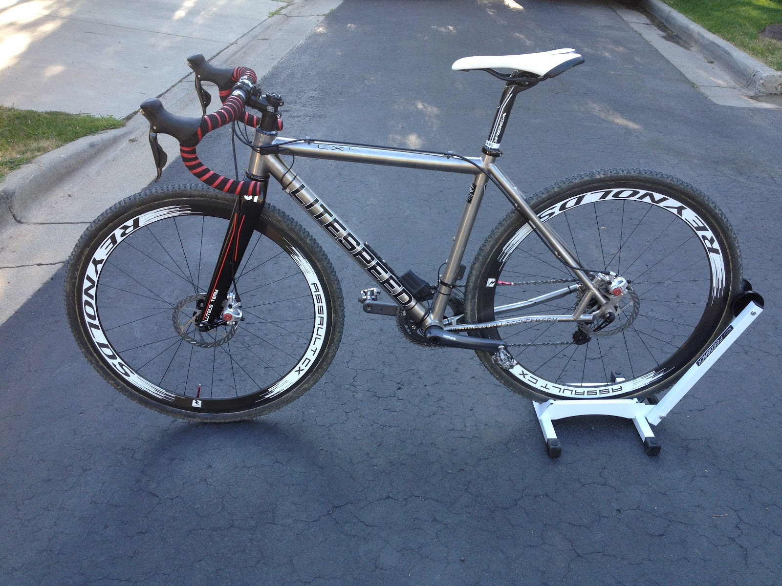 All in Good Fun: The new Litespeed CX is built!!!