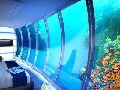 dubai hotel underwater