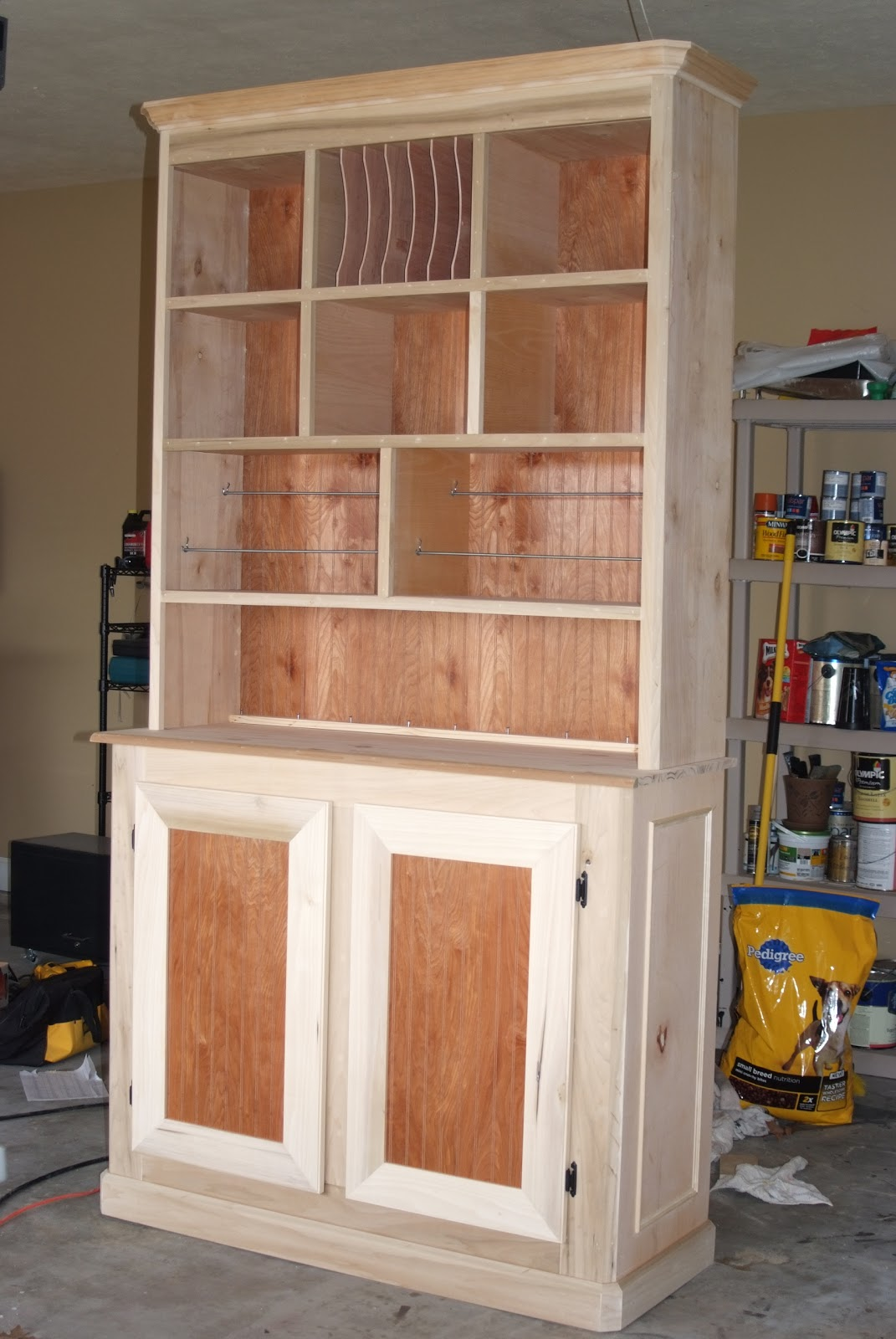 Designs Craft Storage Cabinet Hutch