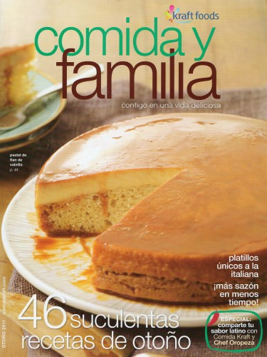 The food company cookbooks comida y familia kraft now charges 1398 for a one year subscription to the english language version food family which was formerly free of charge forumfinder Gallery