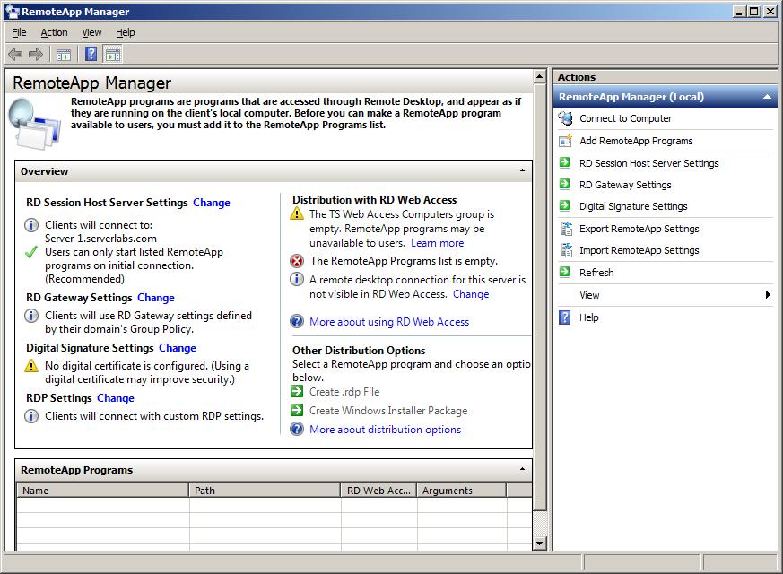 Server Labs How To Install And Configure Remote Desktop Server