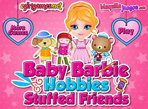 Bichinhos de pelucia da Baby Barbie