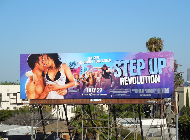 Step Up 4 Revolution billboard