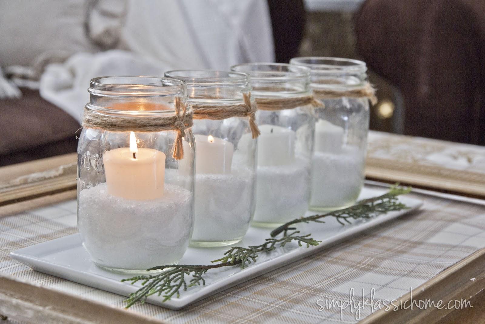 Non traditional advent candles yellow bliss road - Como decorar velas ...