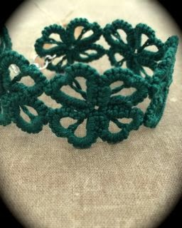 https://www.etsy.com/listing/175999110/tatted-cuff-bracelet-hearts-and-clovers?