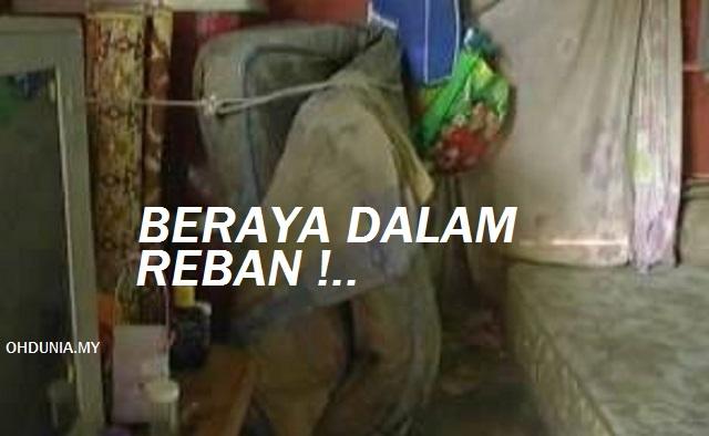 Sedih!.. Sekeluarga Sambut Aidilfitri Dalam 'Reban' di Jasin Melaka