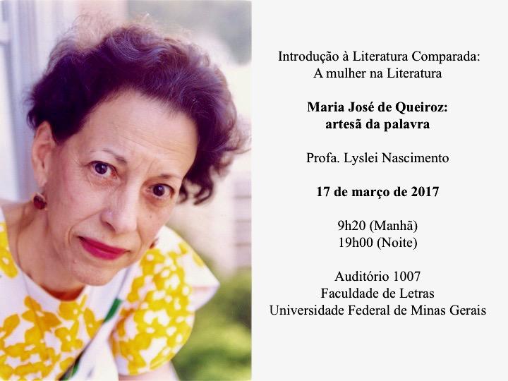"""Disciplina: """"Introdução à Literatura Comparada"""" - Faculdade de Letras da UFMG - 17 de março de 2017"""