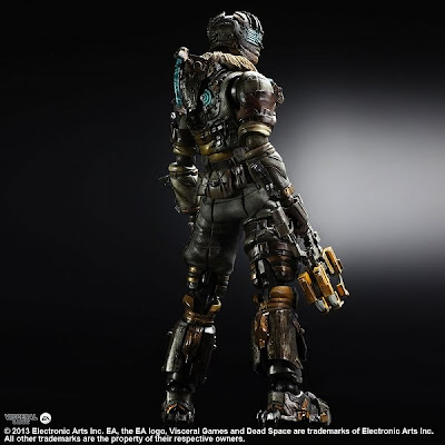 Square Enix Play Arts Dead Space 3 Isaac Clarke figure