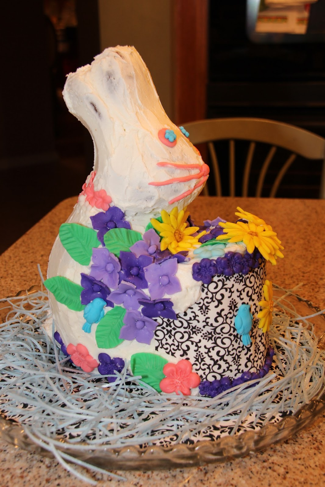 Edible Cake Images Michaels : Family Heritage Cookbook: Easter Bunny Cake with Fondant ...