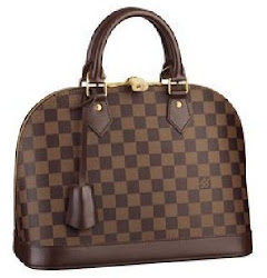 Louis Vuitton Damier Alma Replica Handbag