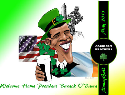 President Obama is a combination of Kenyan and Irish blood: A tree cannot stand on the ground without its roots
