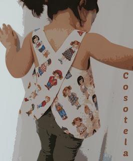blusa espalda cruzada