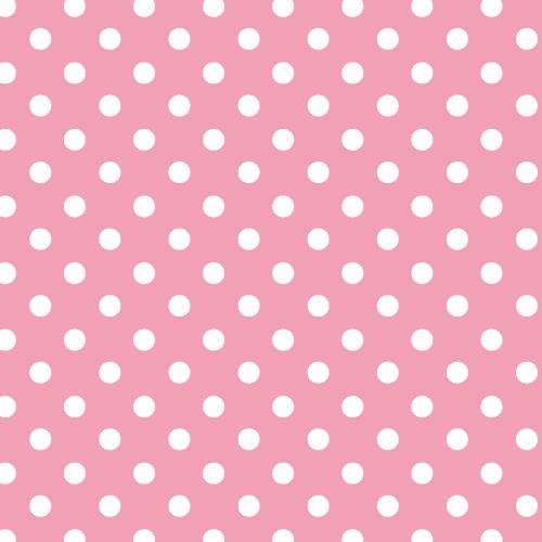 Fondo rosa pastel con topos