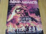 poster Amon Amarth - cu autografe!