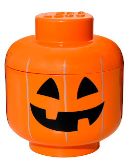 Pumpkin Lego Storage