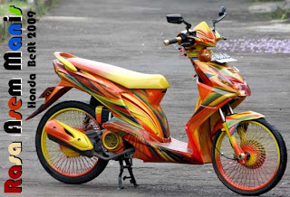 15 Foto Modifikasi Motor Beat Terkeren