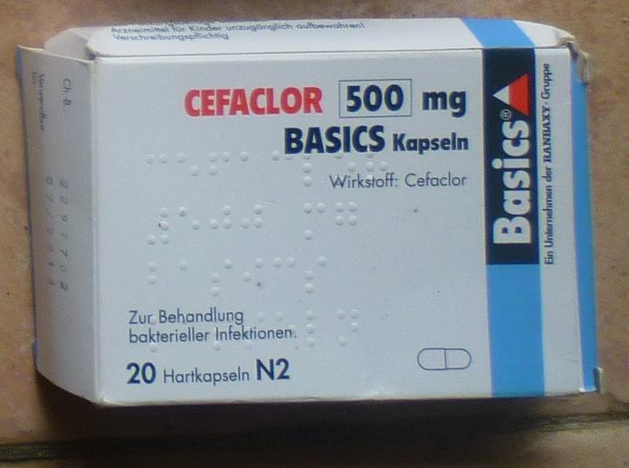 Cefaclor 500mg Basics