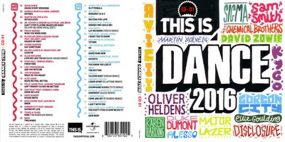 V.A. This Is Dance CD 01 2016