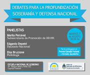 El Frente Transversal de Malvinas Argentinas invita a los Debates para la . panel edgardo