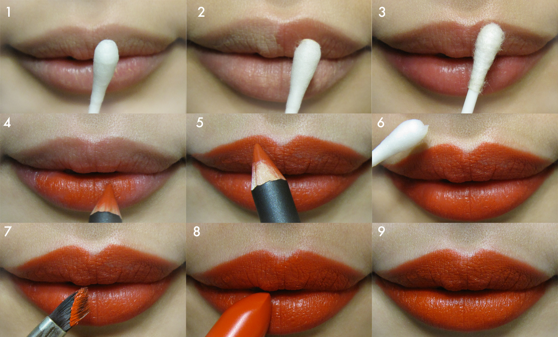 Как сделать губную помаду из теней