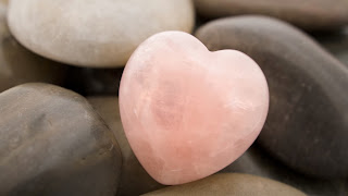 Roca de corazón