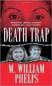Alan Bates, Terra Bates, M. Phelps book, Death Trap book cover