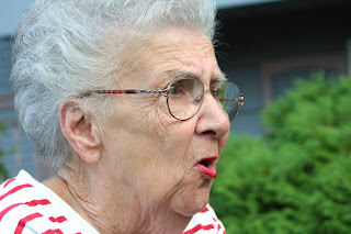 Funny Angry Old Woman