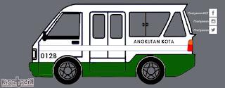 Trayek dan Info Angkot 012B di Tasikmalaya | Kisatasik