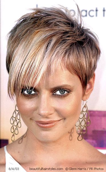 Short Frosted Haircuts