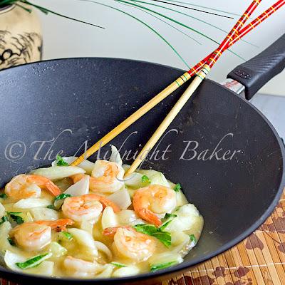 Gastrolux Shrimp with Bok Choi