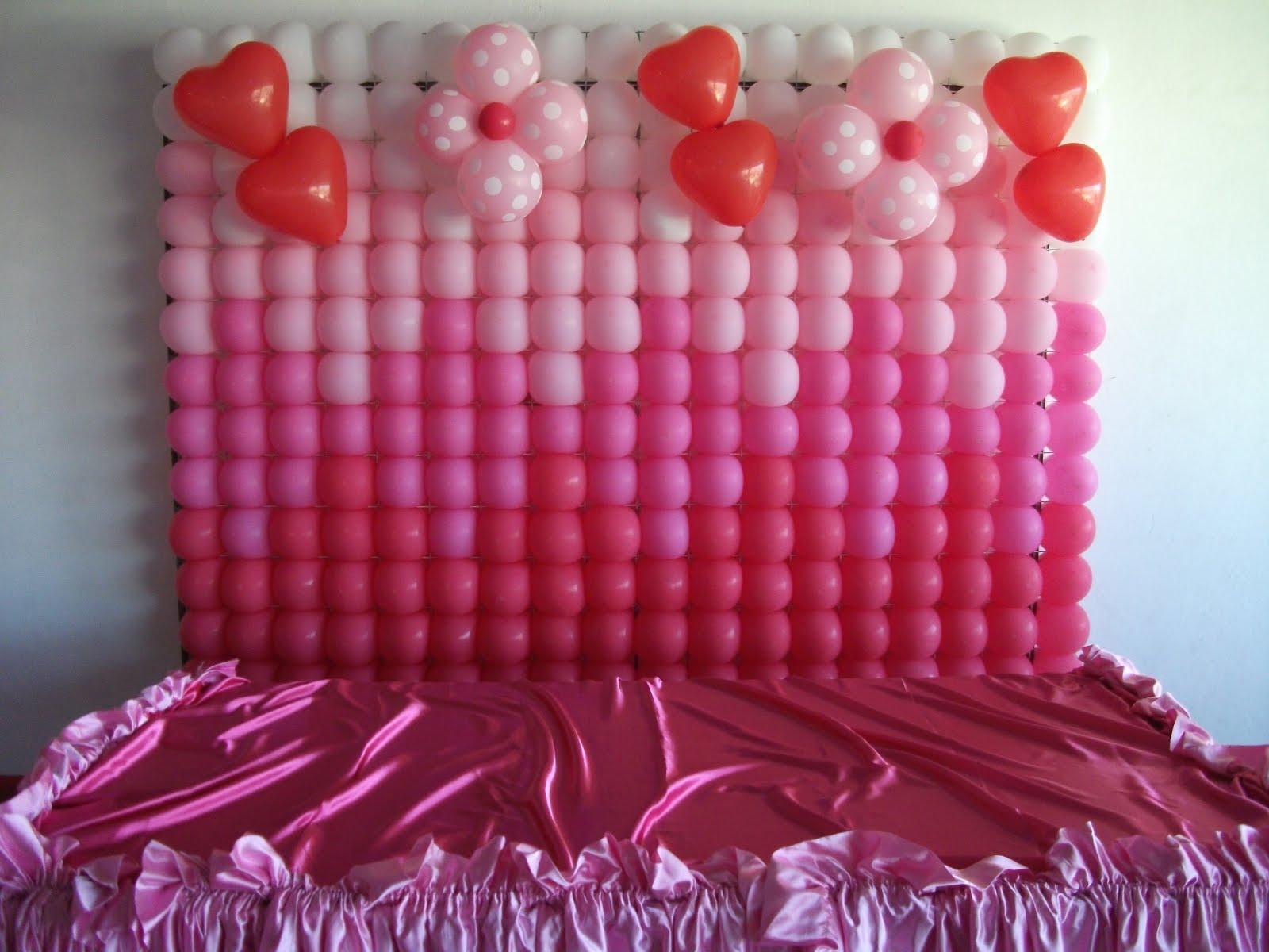 Painel Balão Rosa